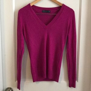 Pink Zara sweater size S